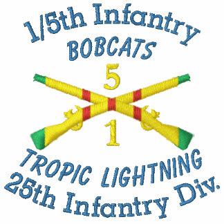 1/5th Infantry 1st ID VSM Crossed Rifles Shirt