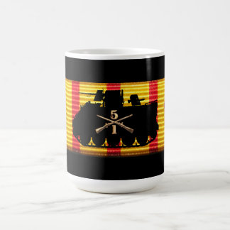 1/5th Infantry Vietnam Service Ribbon Mug