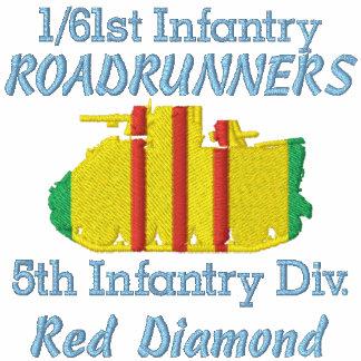 1/61st Inf. 1st ID VSM M113 ACAV Track Polo Shirt