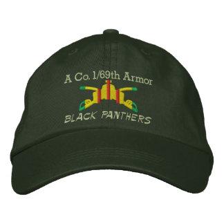 1/69o Gorra bordado rama de la armadura de la arma Gorra De Béisbol