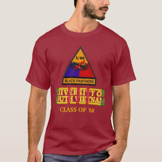 1/69th Armor University of South Vietnam Shirt