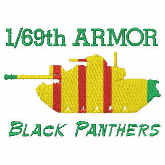 1/69th Armor Vietnam M48A3  & Armor Insignia Shirt