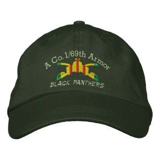 1/69th Armor VSM Armor Branch Embroidered Hat