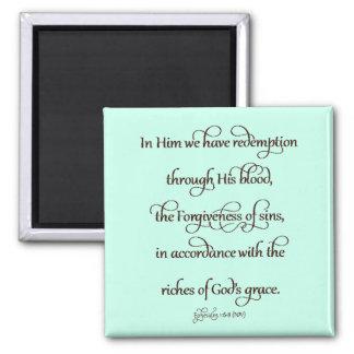 1:6 de Ephesians - 8 Imanes De Nevera