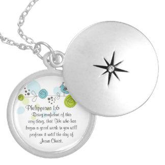 1:6 de los filipenses del regalo del collar del lo
