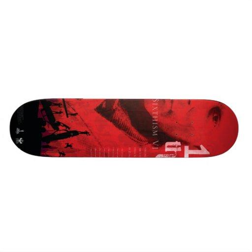 1/6thism_logo_001 custom skateboard