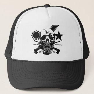 1/75 Ranger skull design with tab & Iraq/Afghan Trucker Hat