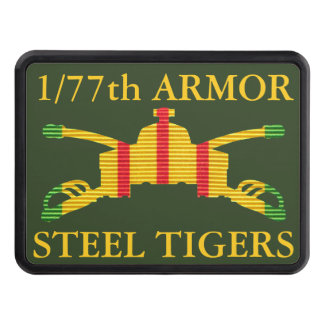 1/77th Armor Insignia Vietnam Hitch Cover
