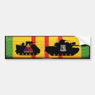 1/77th Armor M48A3 & M113 VSM Bumper Sticker