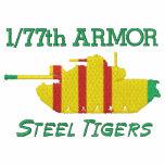 1/77th Armor Vietnam M48A3  & Armor Insignia Shirt