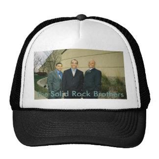 1-7-2008-17, los hermanos de la roca sólida gorros bordados