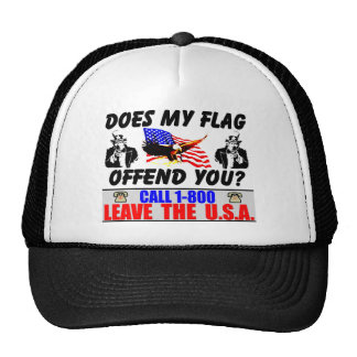 1-800 Leave The USA Trucker Hat