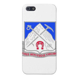 1-87 Infantry Unit Crest iPhone 5 Cases