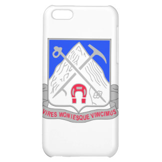 1-87 Infantry Unit Crest iPhone 5C Cases