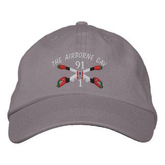 1-91st Cavalry Afghanistan Crossed Sabers Hat