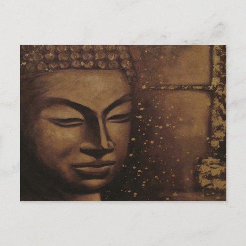 $1.95 Buddah of Peace ~ Postcard Religious postcard