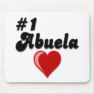 #1 Abuela Granparent's Day Gifts Mouse Pad