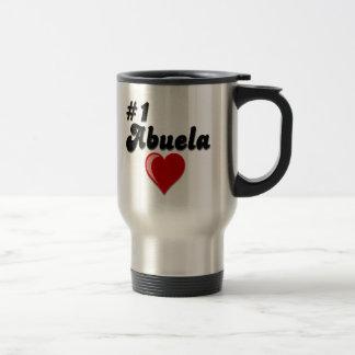 #1 Abuela Granparent's Day Gifts Travel Mug