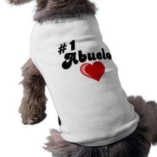 #1 Abuelo Grandparents Day Gifts T-Shirt