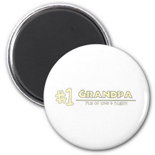 1 abuelo imán redondo 5 cm