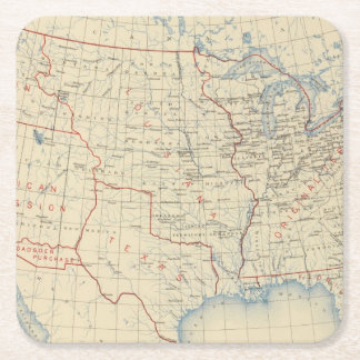 1 Accessions of territory 2 Square Paper Coaster