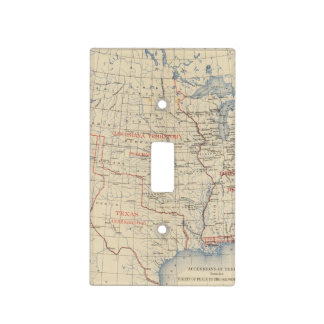 1 Accessions of territory Light Switch Cover