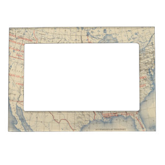 1 Accessions of territory Magnetic Photo Frame