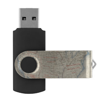 1 Accessions of territory Swivel USB 2.0 Flash Drive
