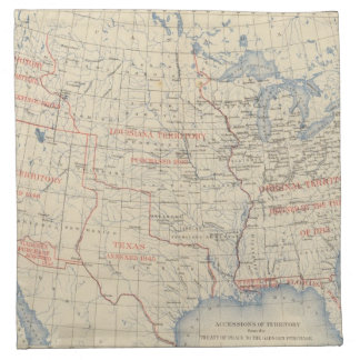 1 Accessions of territory Napkin