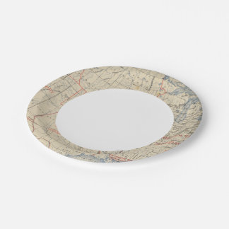 1 Accessions of territory Paper Plate