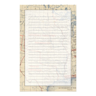 1 Accessions of territory Stationery