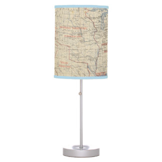 1 Accessions of territory Table Lamp