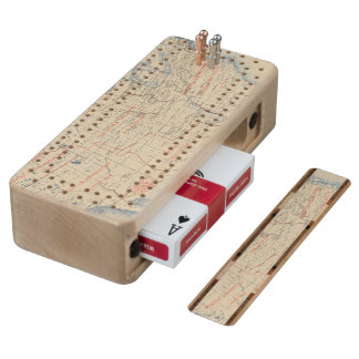 1 Accessions of territory Wood Cribbage Board
