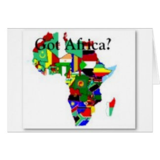 #1 African Urban T-shirt And Etc Greeting Card