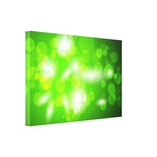 1.ai pone verde el espacio de las burbujas de los  impresión en lienzo