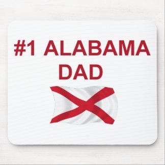 #1 Alabama Dad Mouse Pad