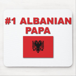 #1 Albanian Papa Mouse Pad