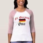 #1 alemán Oma Camiseta