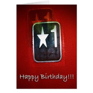 #1 All Star Birthday Card