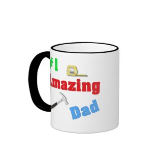 #1 Amazing Dad Mug mug