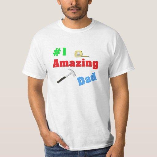 #1 Amazing Dad T-shirt