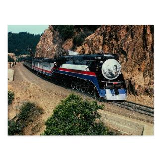1 American Freedom Train (SP) 4449, Cape Horn, CA Postcard