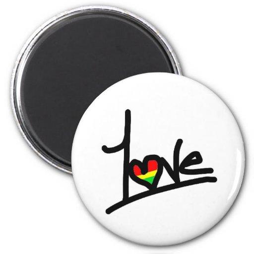 1 amor imanes de nevera