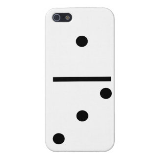 1 and 3 Dominos Design case Case Savvy iPhone 5