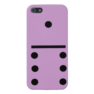 1 and 6 Dominos Design case Case Savvy iPhone 5