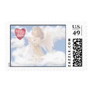 *1* Angelic Love Is From Above Postage