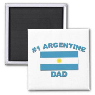 #1 Argentine Dad Magnet