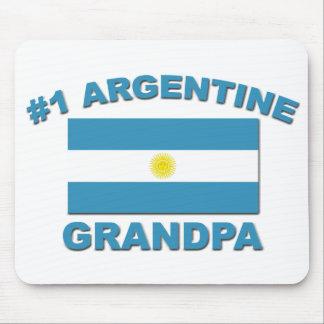#1 Argentine Grandpa Mouse Pad
