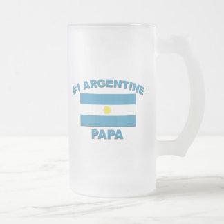 #1 Argentine Papa Coffee Mugs