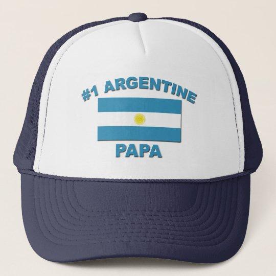 #1 Argentine Papa Trucker Hat